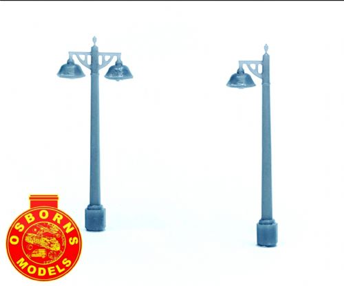 Arch Laser ALN0043 3D printed Southern Concrete Lamp Posts (6)